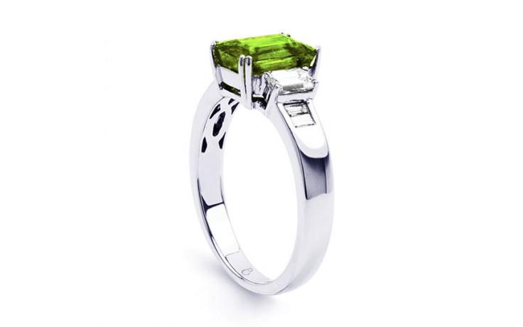 Aiko Peridot & Diamond Ring product image 2