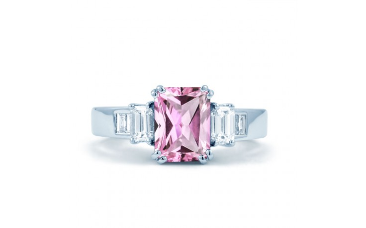 Aiko Pink Sapphire White Gold Ring product image 1