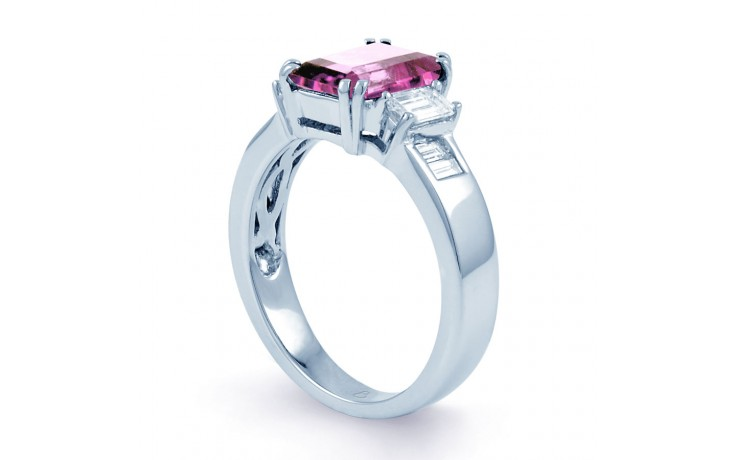 Aiko Pink Sapphire White Gold Ring product image 2
