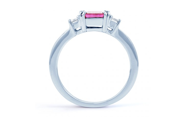 Aiko Pink Sapphire White Gold Ring product image 3