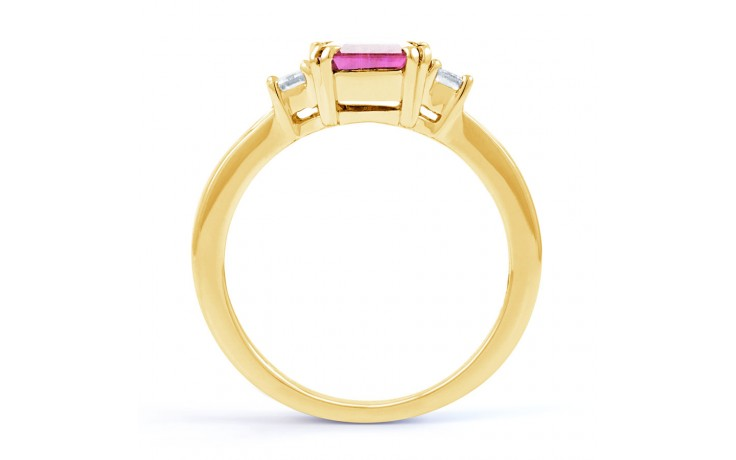 Aiko Pink Sapphire Yellow Gold Ring product image 3