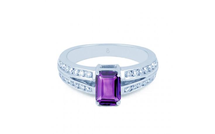 Everest Amethyst & Diamond Ring product image 1