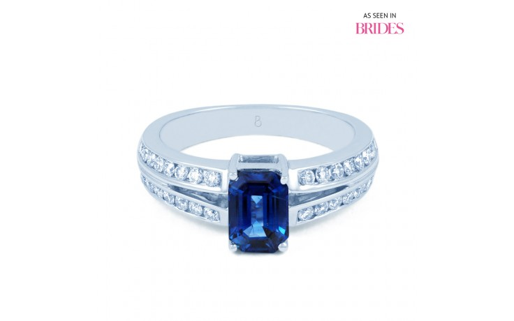 Everest Blue Sapphire Ring product image 1