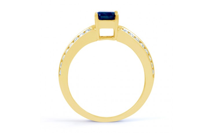 Everest Blue Sapphire Gold Ring product image 3