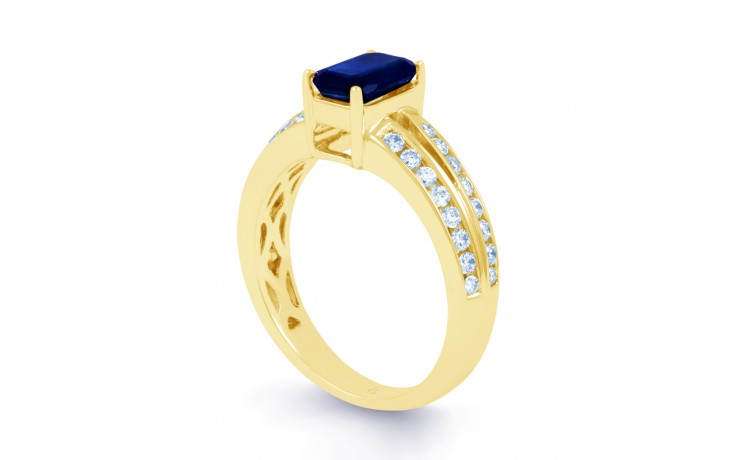 Everest Blue Sapphire Gold Ring product image 2
