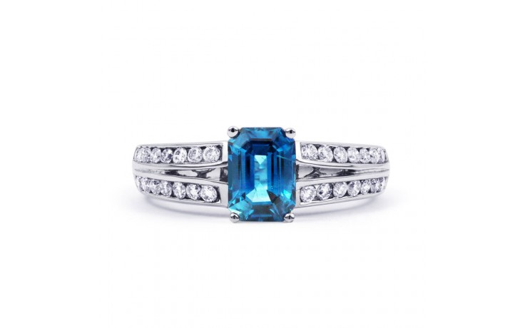 Everest Blue Topaz White Gold Ring  product image 1