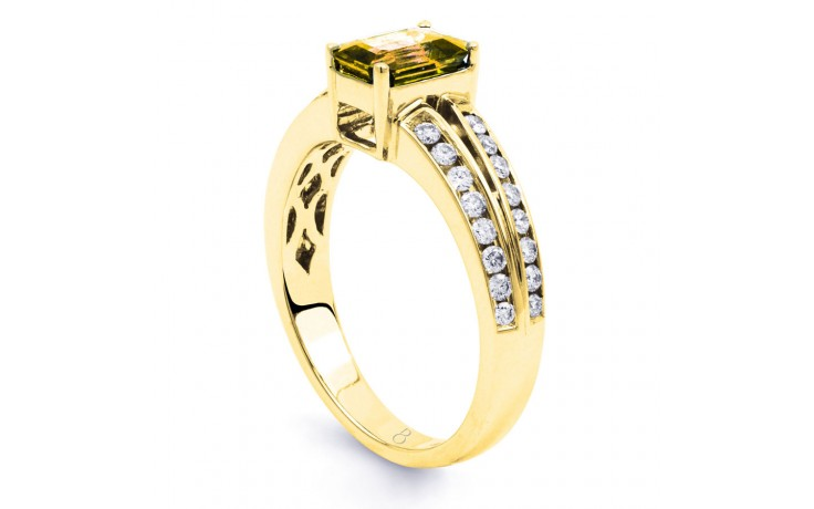 Everest Citrine Yellow Gold Ring product image 2