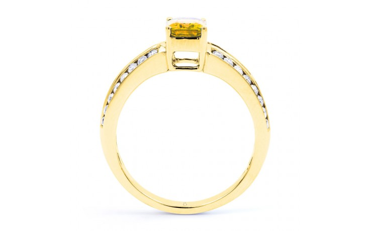 Everest Citrine Yellow Gold Ring product image 3