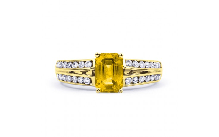 Everest Citrine Yellow Gold Ring product image 1