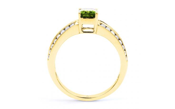 Everest Peridot & Diamond Gold Ring product image 2