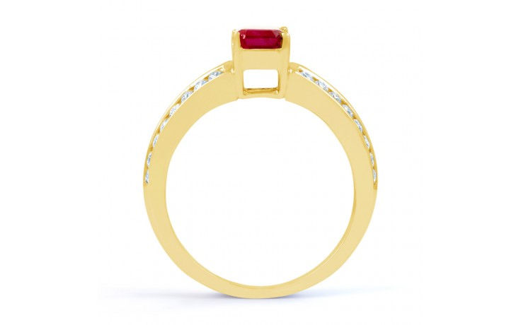 Everest Ruby Gold Ring product image 3