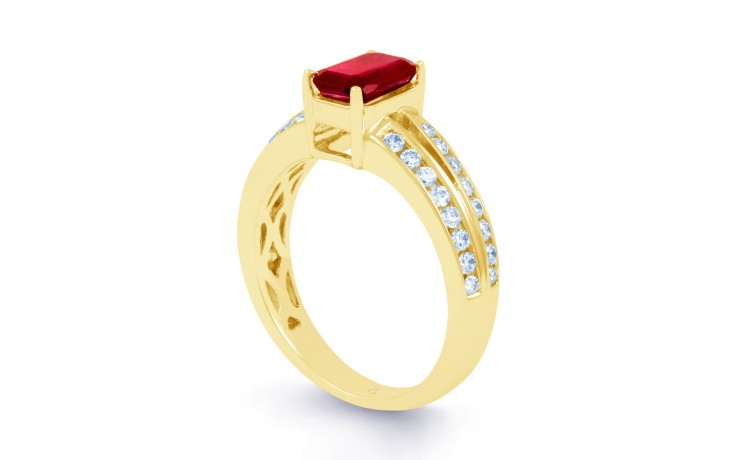Everest Ruby Gold Ring product image 2