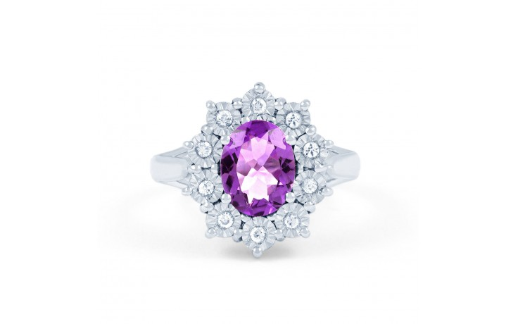 Vintage Floral Amethyst Ring product image 1