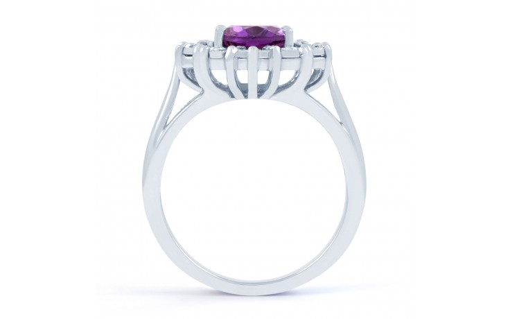 Vintage Floral Amethyst Ring product image 3