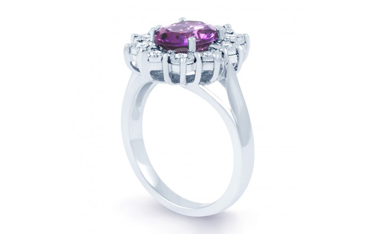 Vintage Floral Amethyst Ring product image 2