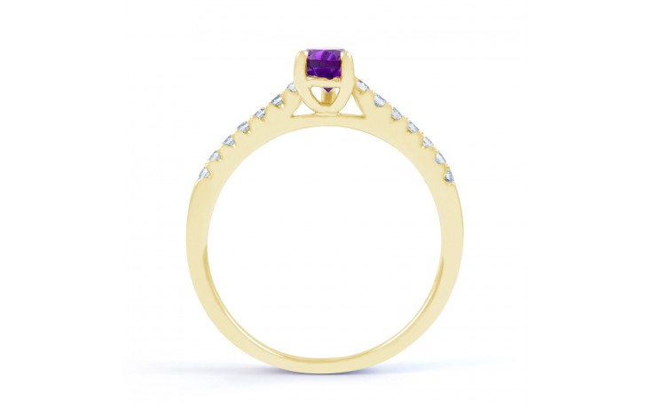 Vintage Amethyst Pear Ring product image 3