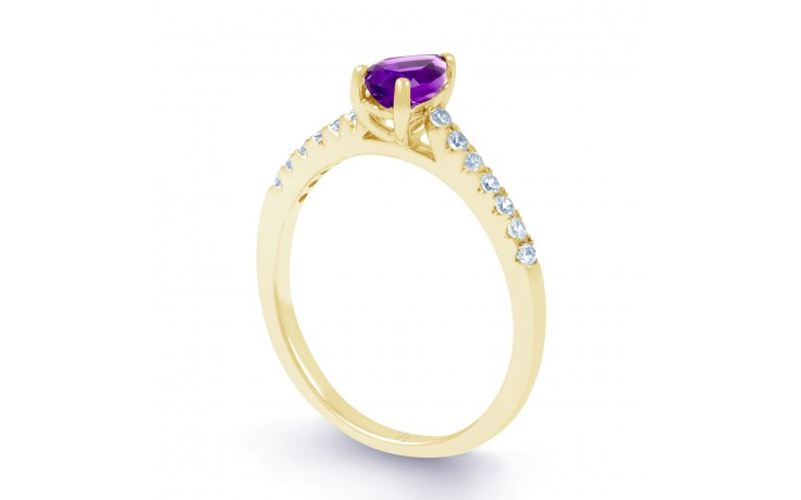 Vintage Amethyst Pear Ring product image 2