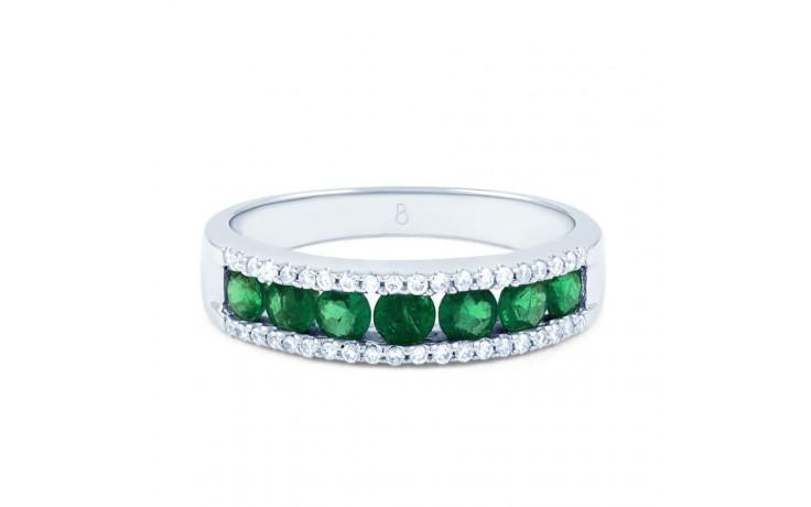 Zambian Emerald Eternity Ring product image 1