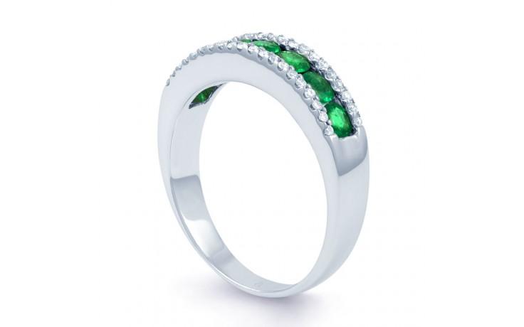 Zambian Emerald Eternity Ring product image 2