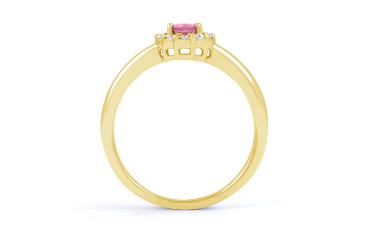 Aya Pink Sapphire Gold Ring product image 3