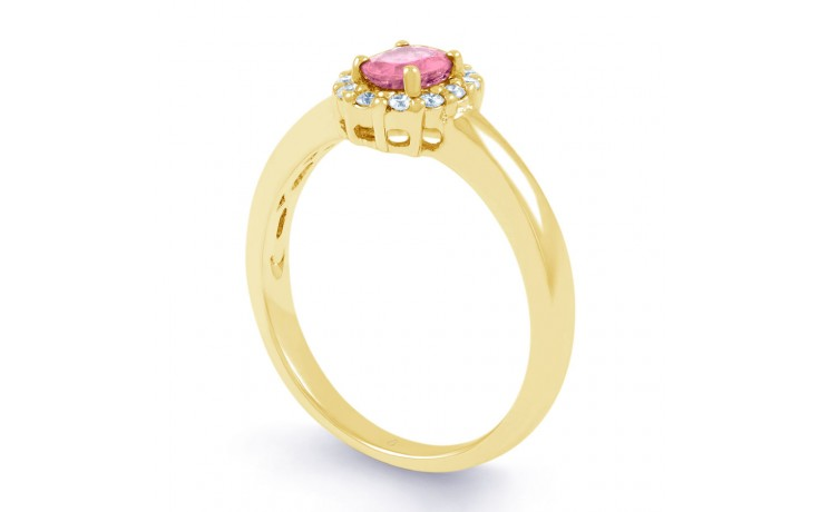Aya Pink Sapphire Gold Ring product image 2