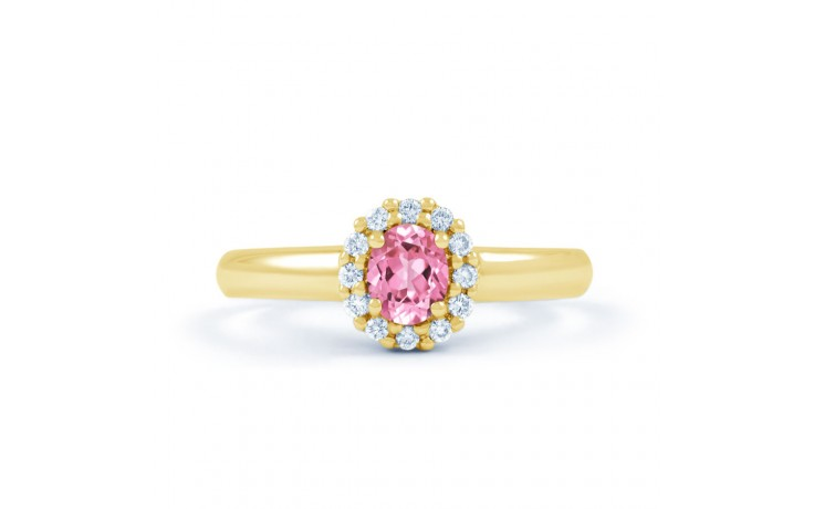 Aya Pink Sapphire Gold Ring product image 1