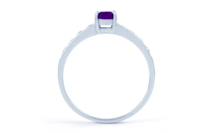 Mira Amethyst & Diamond Ring product image 3