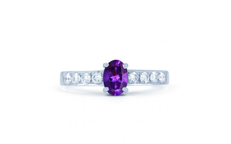 Mira Amethyst & Diamond Ring product image 1