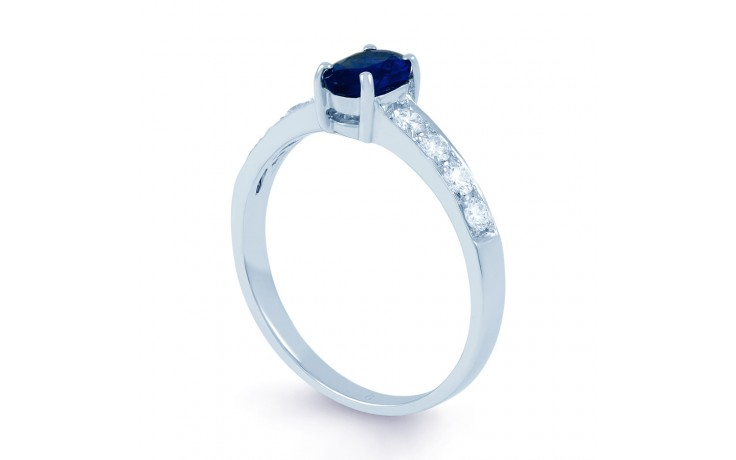 Mira Blue Sapphire Ring product image 2