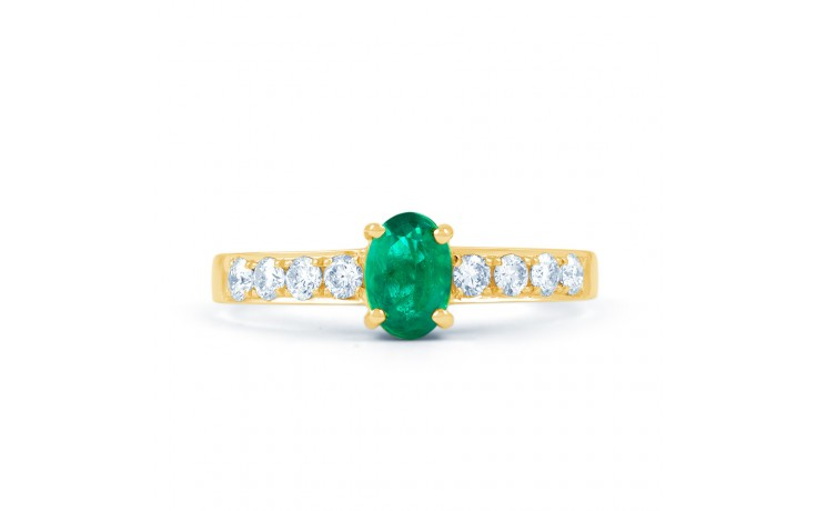 Mira Emerald Gold Ring product image 1