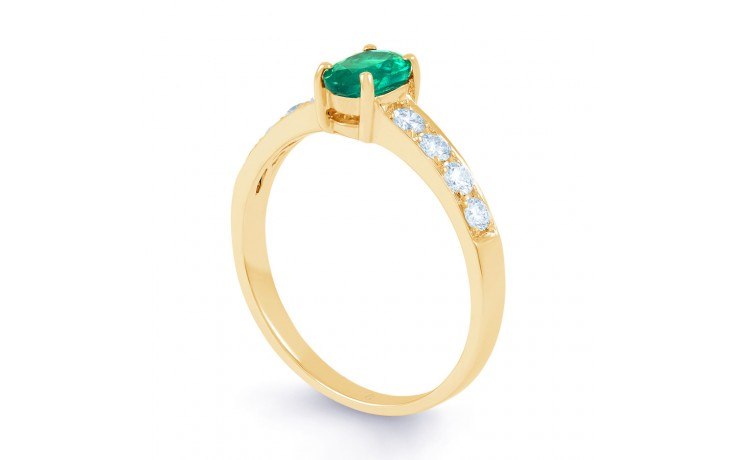 Mira Emerald Gold Ring product image 2