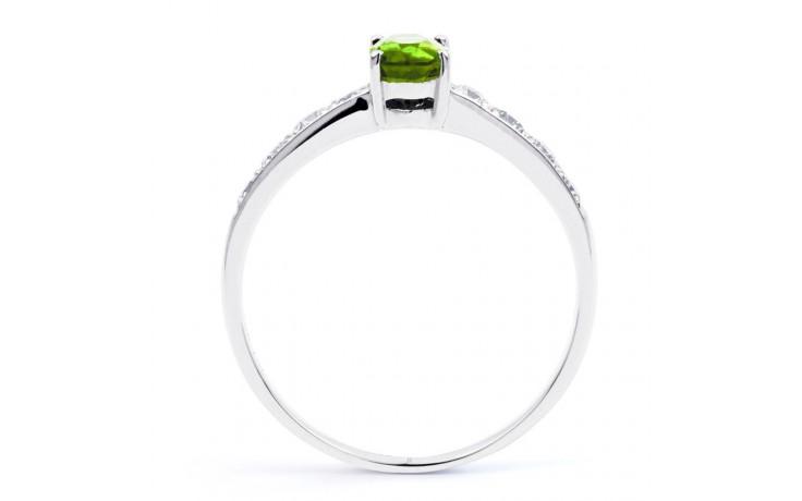 Mira Peridot & Diamond Ring product image 3