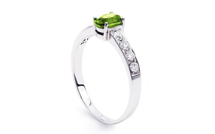 Mira Peridot & Diamond Ring product image 2
