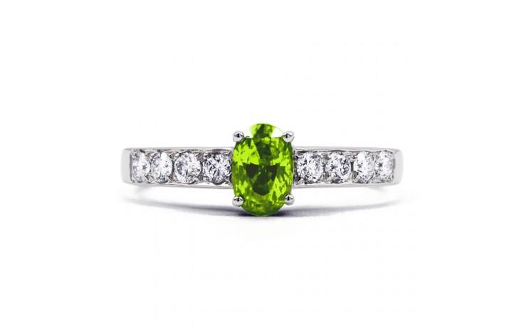 Mira Peridot & Diamond Ring product image 1