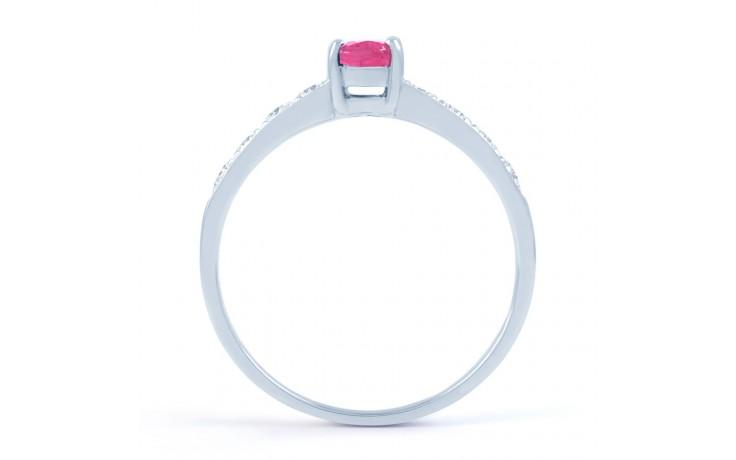 Mira Pink Sapphire Yellow Gold Ring product image 3