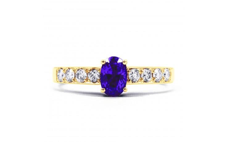Mira Tanzanite Gold Ring product image 1