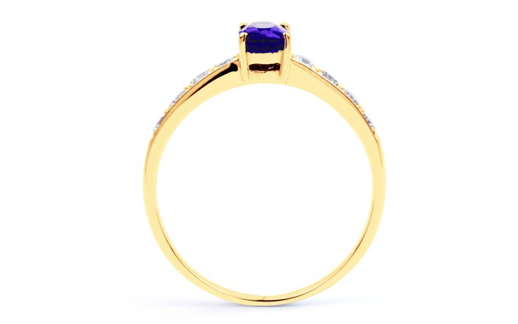 Mira Tanzanite Gold Ring product image 3