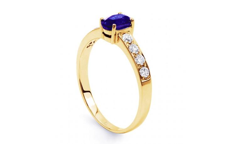 Mira Tanzanite Gold Ring product image 2