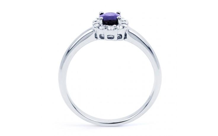 Aya Tanzanite Halo Ring product image 3