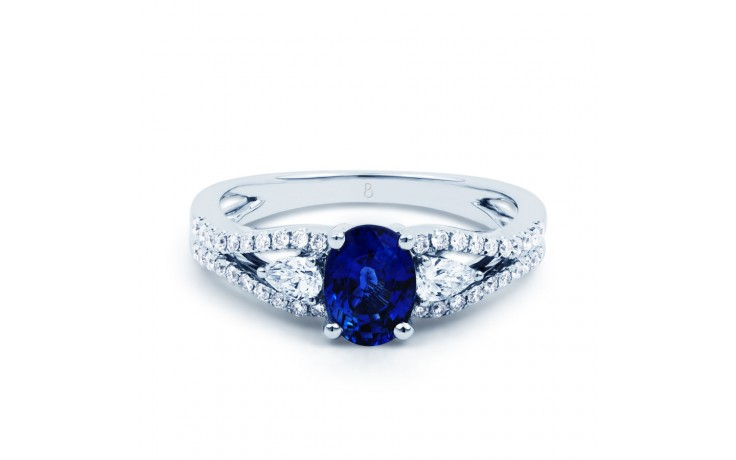 Luxe Sapphire Engagement Ring  product image 1