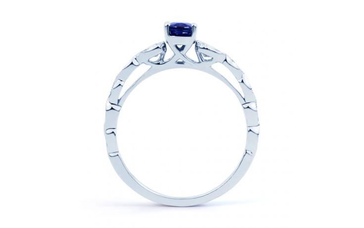 Milgrain Blue Sapphire Ring product image 3