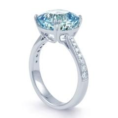 Ceto Aquamarine Ring image 1