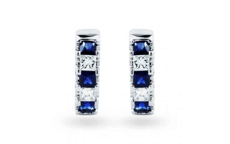 Half Hoop Sapphire Earrings product image 1