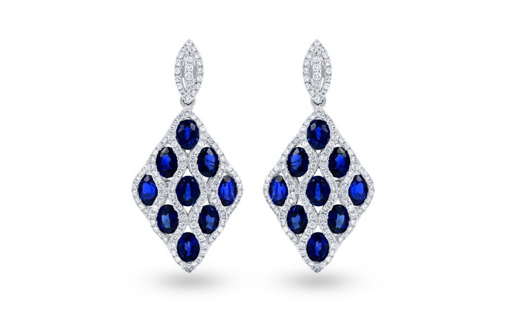 Vogue Blue Sapphire Earrings product image 1