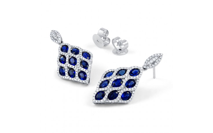 Vogue Blue Sapphire Earrings product image 2