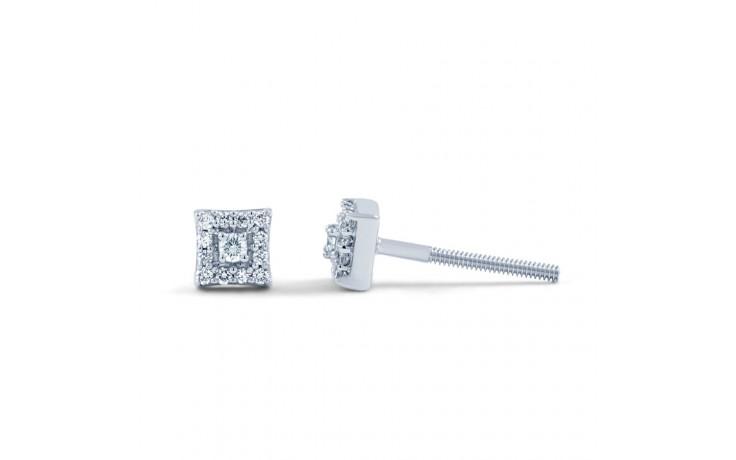 Modern Square Diamond Earrings product image 1