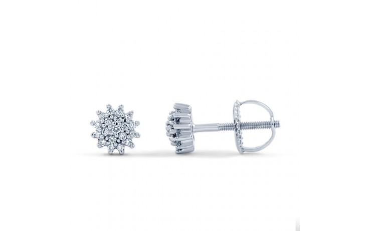 Round Diamond Stud Earrings product image 1