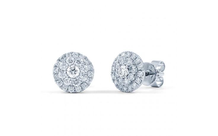Diamond Cluster Earrings product image 2