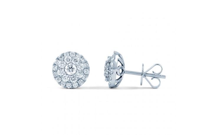 Diamond Cluster Earrings product image 1