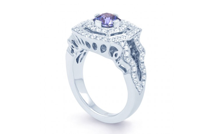 Colour Shift Sapphire Ring product image 2